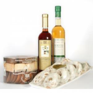 Vinos dulces y galletas de Figueres
